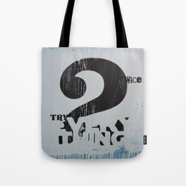 2wice Tote Bag