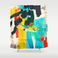 lonely Shower Curtains featuring Lonely Water by Picomodi