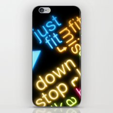 JUST FIT iPhone & iPod Skin
