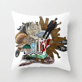 Fashion Trends by Lenka Laskoradova Throw Pillow