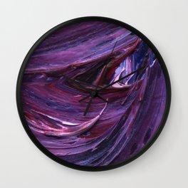 Lapeda Textile Art - 19 Wall Clock