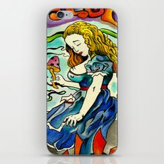 Alice in Wonderbra  iPhone & iPod Skin