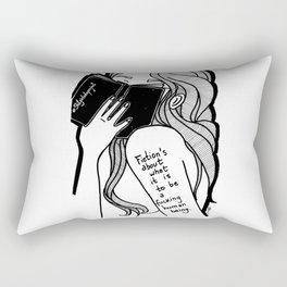 Blood, Sweat and Tears Rectangular Pillow