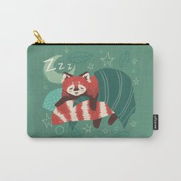 Bedtime for Red Panda Carry-All Pouch