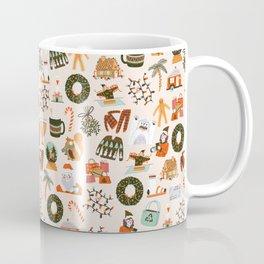 Happy Holidays Mall Bingo Coffee Mug