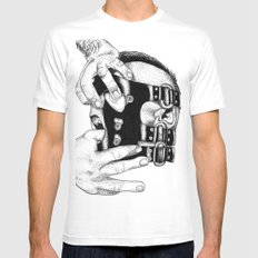 hot man vicious Mens Fitted Tee White SMALL