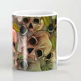 Apple Skull Coffee Mug