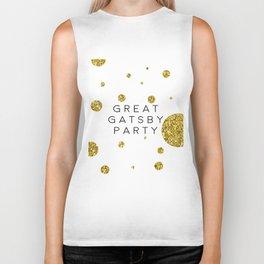 PRINTABLE Art,Great Gatsby Party,Party Like Gatsby,Wedding Anniversary,Happy Birthday,Celebrate Life Biker Tank