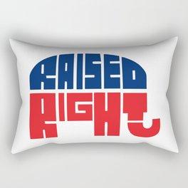 Raised Right Rectangular Pillow