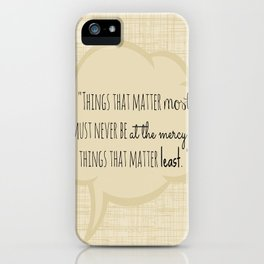 Johann Wolfgang von Goethe Quote iPhone Case