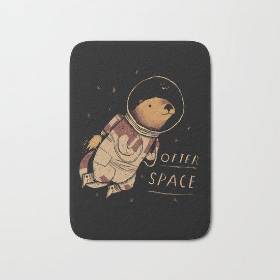 otter space Bath Mat