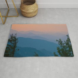 Complementary Mountains Rug