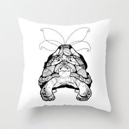 Blossom Light Turtle Fairy Elf Throw Pillow