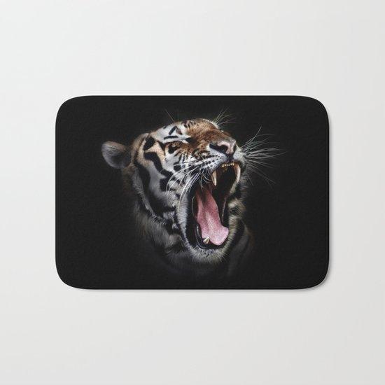 Ferocious Tiger Bath Mat