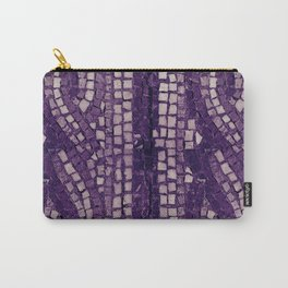 stone tile 4378 ultra violet Carry-All Pouch
