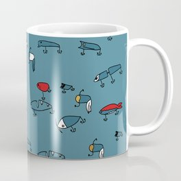 Blue Lures Coffee Mug