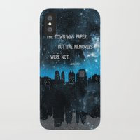 paper towns iPhone & iPod Cases featuring Paper Towns John Green  by denise
