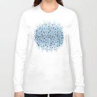 bubble Long Sleeve T-shirts featuring bubble by Marta Olga Klara