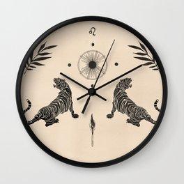 Leo II Wall Clock