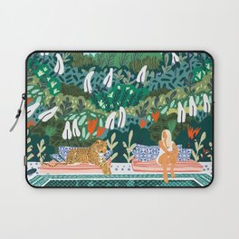 Chilling || #illustration #painting Laptop Sleeve