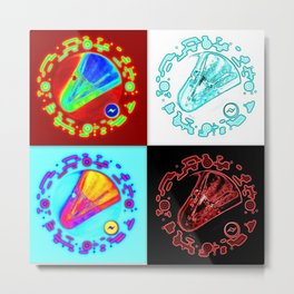 Martian Winklepickers Metal Print