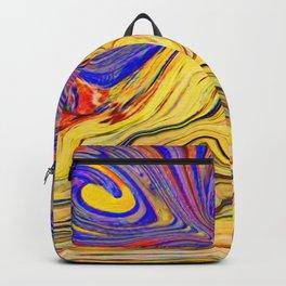 Vesuvio che brucia Backpack