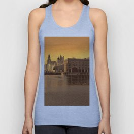 Albert Dock, Liverpool Unisex Tank Top