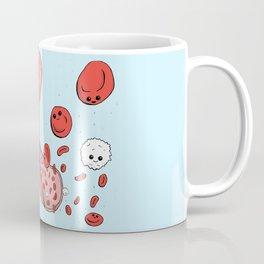 Cute blood cells Coffee Mug