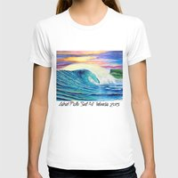 indonesia T-shirts featuring  Surf Art  Indonesia by Surf Art Gabriel Picillo