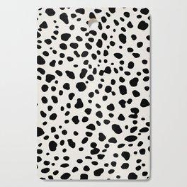 Polka Dots Dalmatian Spots Cutting Board