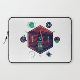 It fell from the stars, It rose from the sea Laptop Sleeve