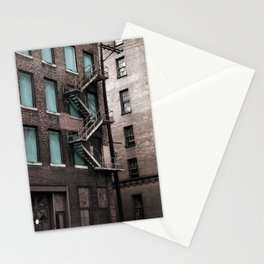 Teal & Brick Stationery Cards
