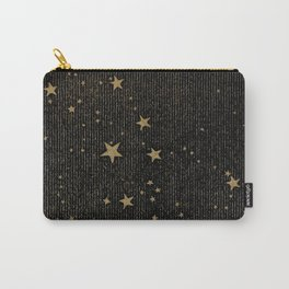 Paper Texture Stars Illustration from A high-school astronomy - Hiram Mattison - 1859 Carry-All Pouch