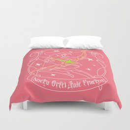 Strive for your ideal place Duvet Cover