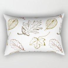 Leaves (browns) Rectangular Pillow