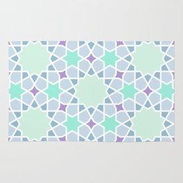 Arabic pattern Rug
