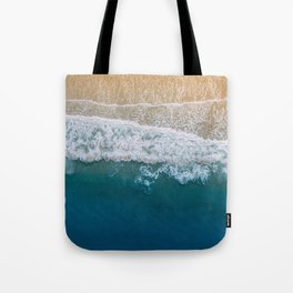 Water on the Beach (Color) Tote Bag