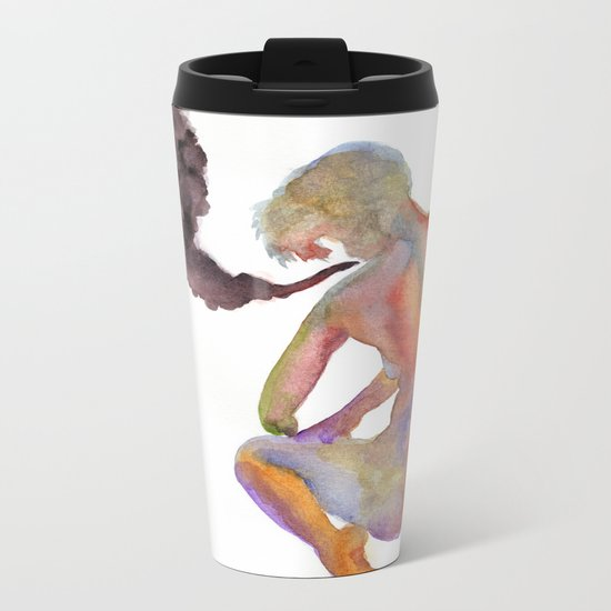 Obscure Thoughts Metal Travel Mug