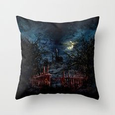 Castlevania: Vampire Variations- Gates Throw Pillow
