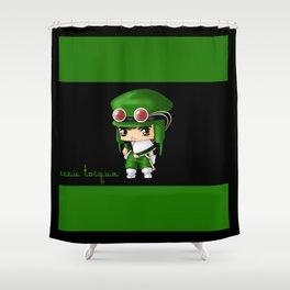 Chibi Zazu Shower Curtain