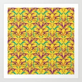 Tribal Pattern 1 Art Print