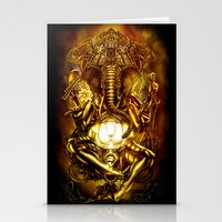 ganesha Stationery Cards featuring Ganesha by Giorgio Finamore