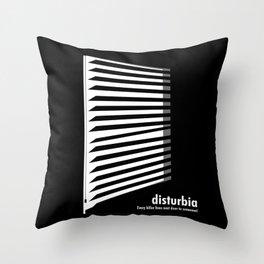 Disturbia Throw Pillow