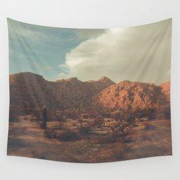 Arizona, Desert, desert photography, desert decor, mountains, sky, desert print, Phoenix, saguro Wall Tapestry