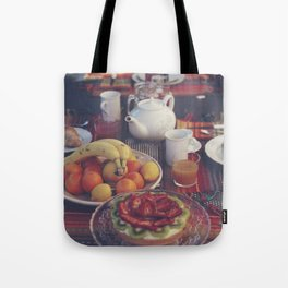 Food photography, fruit still life, kitchen wall art, bed & breakfast, food porn, fine art Tote Bag