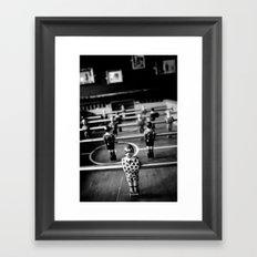 3 out of 5 Framed Art Print