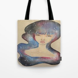Space Lady Tote Bag