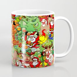 In Christmas melt into the crowd and enjoy it Coffee Mug