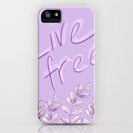 Livefree iPhone Case