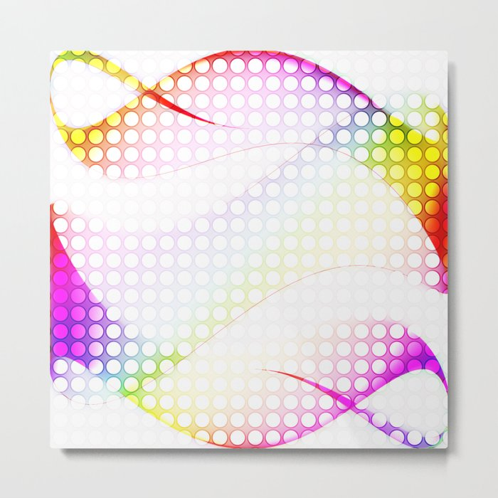 abstract colorful tamplate Metal Print